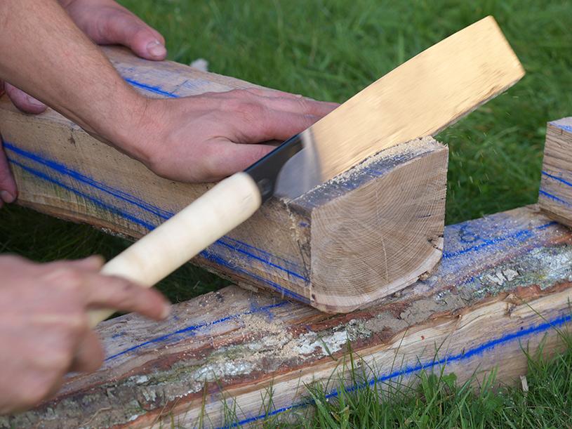 Laurent guillot charpentier traditionnel savoir faire co - Sorbetiere en bois traditionnelle ...